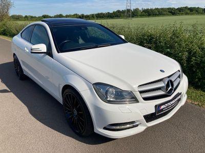 Mercedes-Benz C Class Coupe 2.1 C220 CDI SE (Executive Premium Plus) 2dr