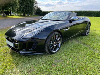 Jaguar F-Type Convertible 3.0 V6 S Quickshift 2dr