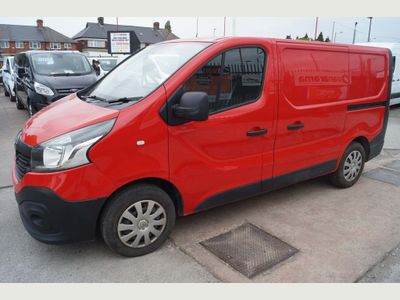 Renault Trafic Panel Van 1.6DCi 115 SL27 L1 SWB BUSINESS MODEL