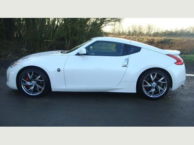Nissan 370 Z Coupe COUPE LEFT HAND DRIVE AUTOMATIC PETROL