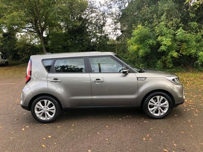 Kia Soul Hatchback 1.6 GDi Connect Plus 5dr