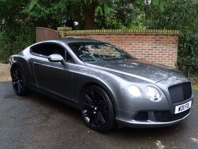 Bentley Continental Coupe 6.0 W12 GT Auto 4WD 2dr