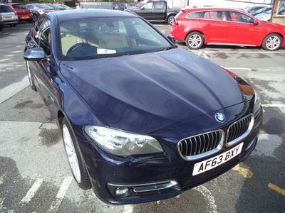 BMW 5 Series Saloon 3.0 535d Luxury 4dr