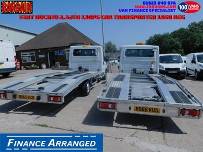 FIAT DUCATO Vehicle Transporter 2.3JTD 130PS CAR TRANSPORTER 1850 KGS