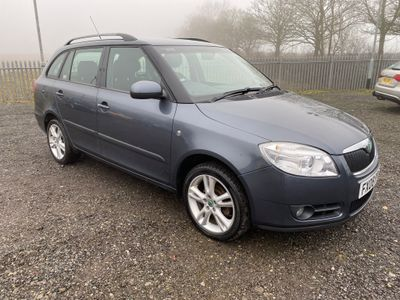SKODA Fabia Estate 1.4 TDI PD 3 5dr