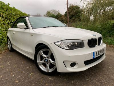 BMW 1 Series Convertible 2.0 118i Exclusive Edition Auto 2dr