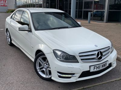 Mercedes-Benz C Class Saloon 2.1 C200 CDI BlueEFFICIENCY Sport Edition 125 7G-Tronic 4dr
