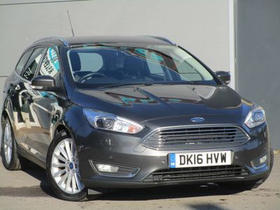 Ford Focus Estate 1.5 TDCi Titanium X Powershift (s/s) 5dr