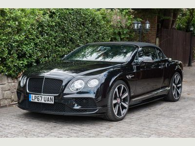 Bentley Continental Convertible 4.0 GTC V8 S Auto 4WD 2dr