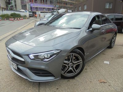Mercedes-Benz CLA Class Coupe 1.3 CLA200 AMG Line 7G-DCT (s/s) 4dr