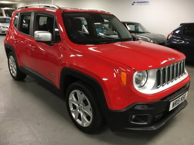 Jeep Renegade SUV 1.6 MultiJetII Limited (s/s) 5dr (EU5)