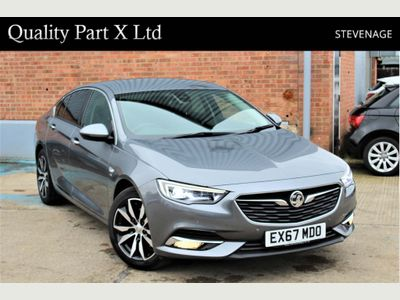Vauxhall Insignia Hatchback 1.6 Turbo D BlueInjection Elite Nav Grand Sport Auto (s/s) 5dr