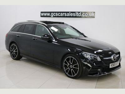 Mercedes-Benz C Class Estate 2.0 C220d AMG Line Edition (Premium Plus) G-Tronic+ (s/s) 5dr