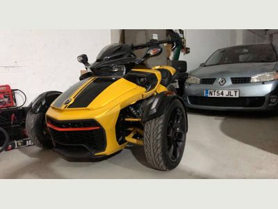 Can-Am Spyder Three Wheeler
