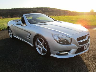 Mercedes-Benz SL Class Convertible 4.7 SL500 BlueEFFICIENCY 7G-Tronic (s/s) 2dr