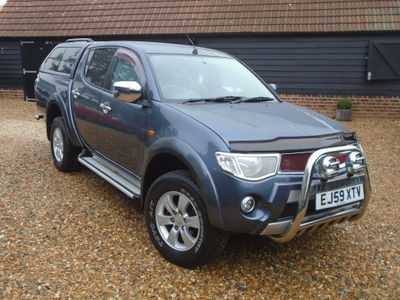 Mitsubishi L200 Pickup 2.5 DI-D Animal Double Cab Pickup 4WD 4dr (LWB)