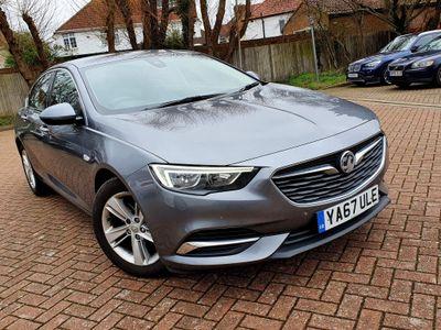 Vauxhall Insignia Hatchback 1.6 Turbo D BlueInjection Tech Line Nav Grand Sport (s/s) 5dr