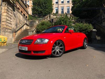 Audi TT Convertible 1.8 T Roadster quattro 2dr