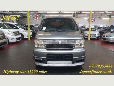 Nissan Elgrand MPV Highway Star only 41200 miles + YH51NPW+