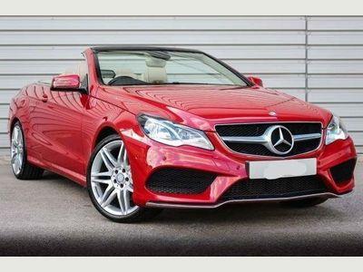 Mercedes-Benz E Class Convertible 2.1 E220 CDI SE Cabriolet 7G-Tronic Plus 2dr