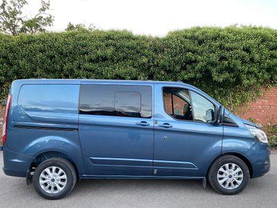 Ford Transit Custom Combi Van 2.0 320 EcoBlue Limited DCIV Auto L1 H1 EU6 (s/s) 5dr
