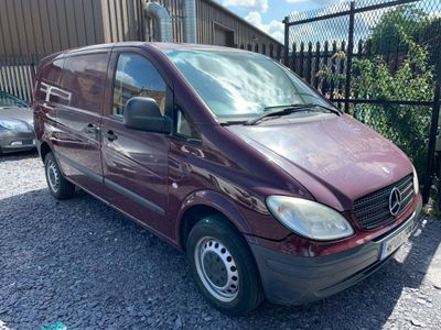 MERCEDES-BENZ VITO Panel Van 2.1 109CDI Dualiner Basic Compact Panel Van 5dr