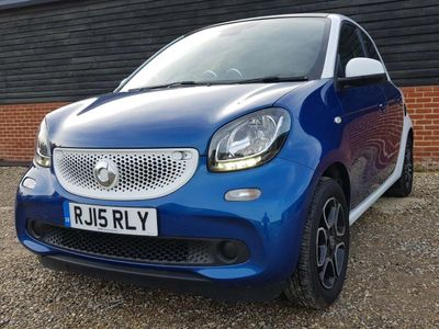 Smart forfour Hatchback 1.0 Prime Night Sky (Premium) (s/s) 5dr