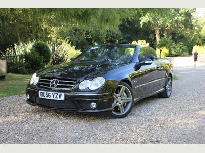 MERCEDES-BENZ CLK Convertible 6.2 CLK63 AMG Cabriolet 7G-Tronic 2dr