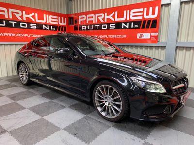 Mercedes-Benz CLS Coupe 2.1 CLS220 CDi BlueTEC AMG Line G-Tronic+ (s/s) 4dr