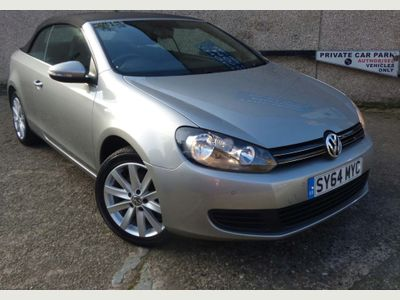 Volkswagen Golf Convertible 2.0 TDI BlueMotion Tech SE BlueMotion Cabriolet DSG 2dr