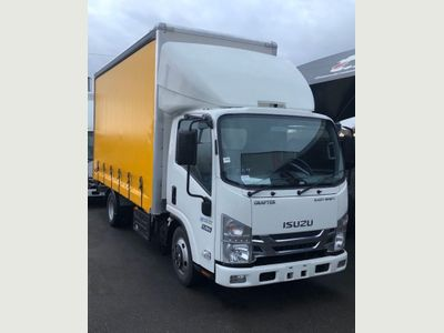 Isuzu Grafter Curtain Side 3.0D N35 Blue RWD LWB EU6 2dr (TRW)