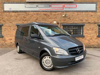 Mercedes-Benz Vito Van Conversion 2.1 DCi 2+2 DUALINER LONG DIESEL 113CDI