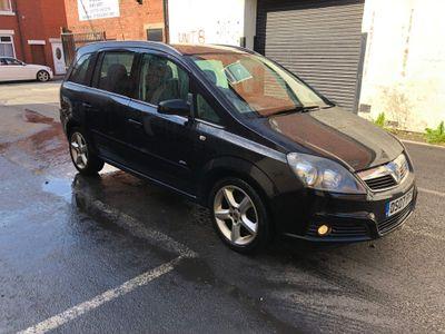 Vauxhall Zafira MPV 1.8 i 16v SRi 5dr