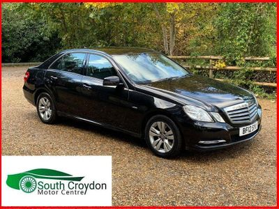 Mercedes-Benz E Class Saloon 2.1 E220 CDI BlueEFFICIENCY SE G-Tronic 4dr