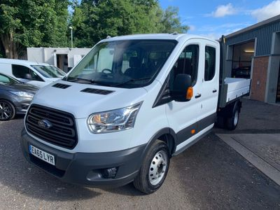 Ford Transit Tipper 2.2 TDCi 350 1-Way Double Cab Tipper RWD L3 EU5 4dr (1-Stop, DRW)