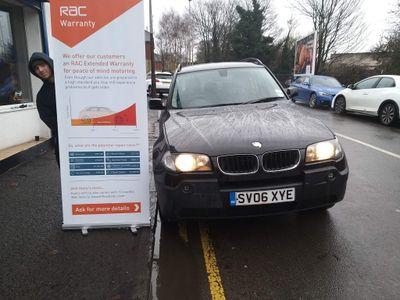 BMW X3 SUV 2.0d SE 4WD 5dr