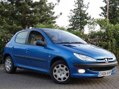 Peugeot 206 Hatchback 1.4 16v SE 5dr (a/c, climate control)