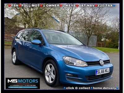 Volkswagen Golf Estate 1.6 TDI BlueMotion Tech Match Edition (s/s) 5dr