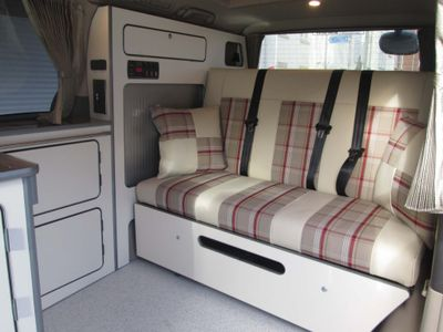 Toyota Alphard MPV camper van 4 berth pop top roof, 5 seats