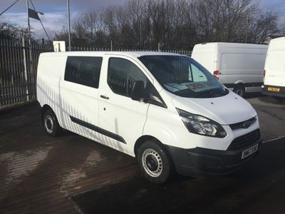 Ford Transit Custom Panel Van Transit Custom Crew Van