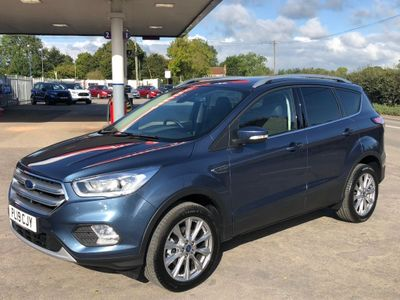 FORD KUGA SUV 1.5T EcoBoost Titanium Edition (s/s) 5dr
