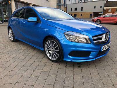 Mercedes-Benz A Class Hatchback 1.5 A180 CDI BlueEFFICIENCY AMG Sport 5dr