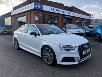 Audi A3 Saloon 2.0 TDI Black Edition (s/s) 4dr