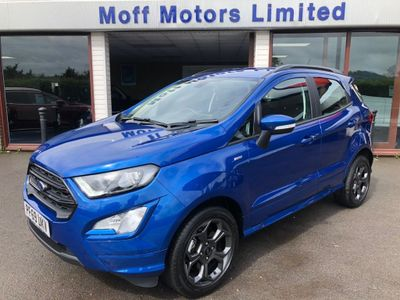 Ford EcoSport SUV 1.0T EcoBoost ST-Line Auto (s/s) 5dr