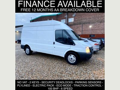 Ford Transit Panel Van 2.2 TDCi 350 LWB High Roof Van 3dr (EU5, LWB)