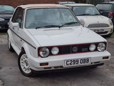 Volkswagen Golf Convertible Cabrio Gti 1.8