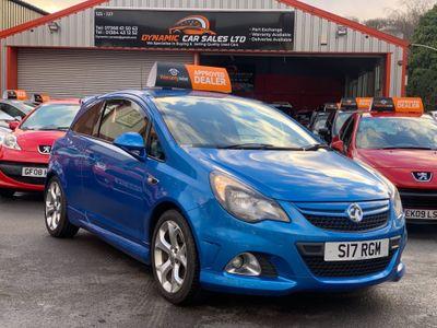 Vauxhall Corsa Hatchback 1.6 i Turbo 16v VXR Blue 3dr