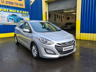 Hyundai i30 Estate 1.6 CRDi Blue Drive Active Tourer 5dr (ISG)