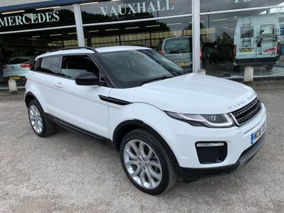 Land Rover Range Rover Evoque Coupe 2.0 eD4 SE Tech (s/s) 3dr