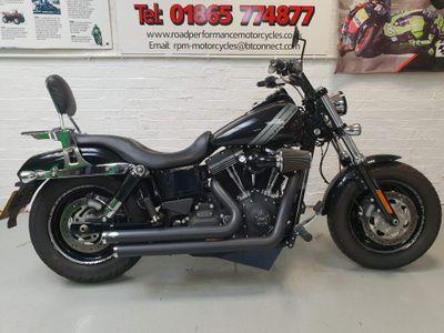 Harley-Davidson Dyna Custom Cruiser 1690 FXDF Fat Bob